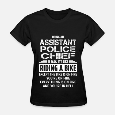 Fire Police Ems Assistant Police Chief - Women's T-Shirt