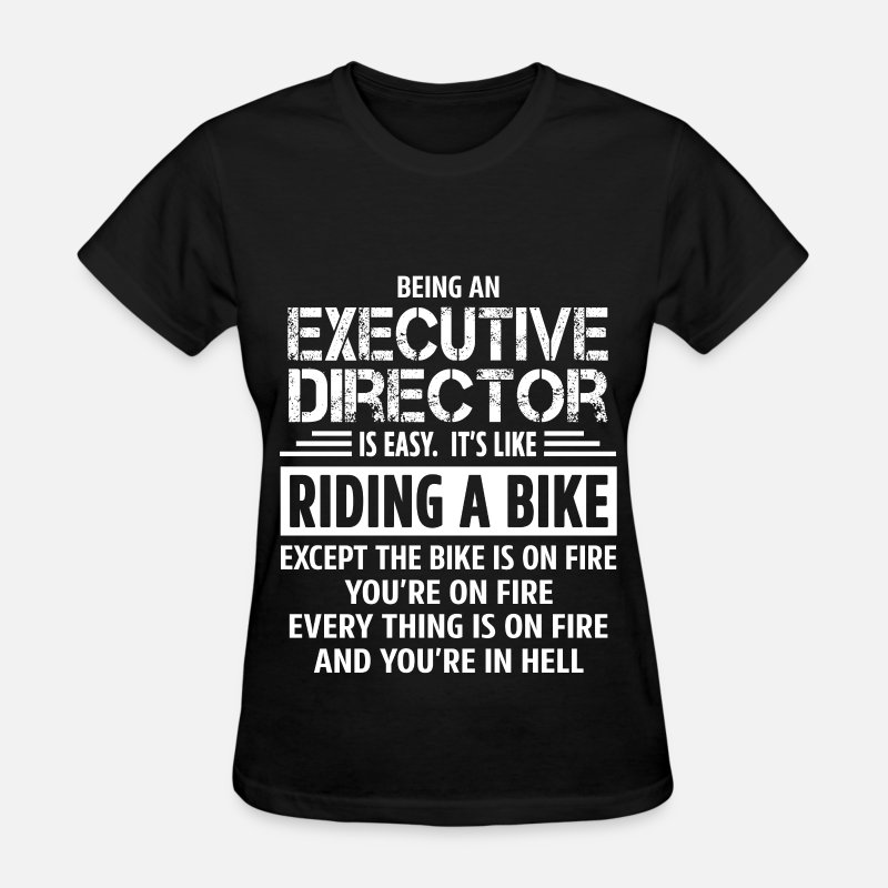 Executive T-Shirts - Executive Director - Women's T-Shirt black