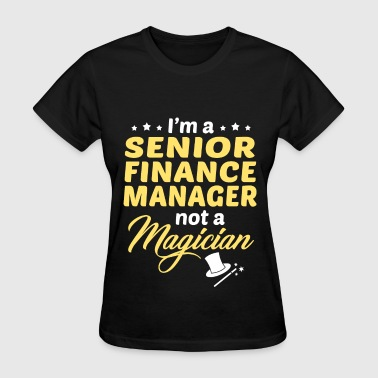 Senior Finance Manager - Women's T-Shirt