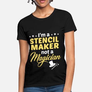Shop Stencil Maker T-Shirts online | Spreadshirt