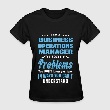 Business Operations Manager - Women's T-Shirt