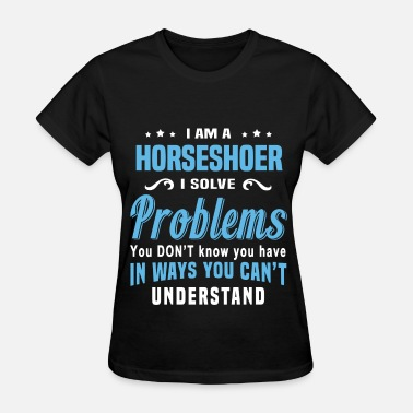 Pitching Horseshoer - Women's T-Shirt