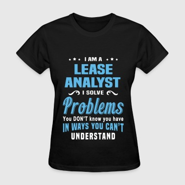 Lease Analyst - Women's T-Shirt