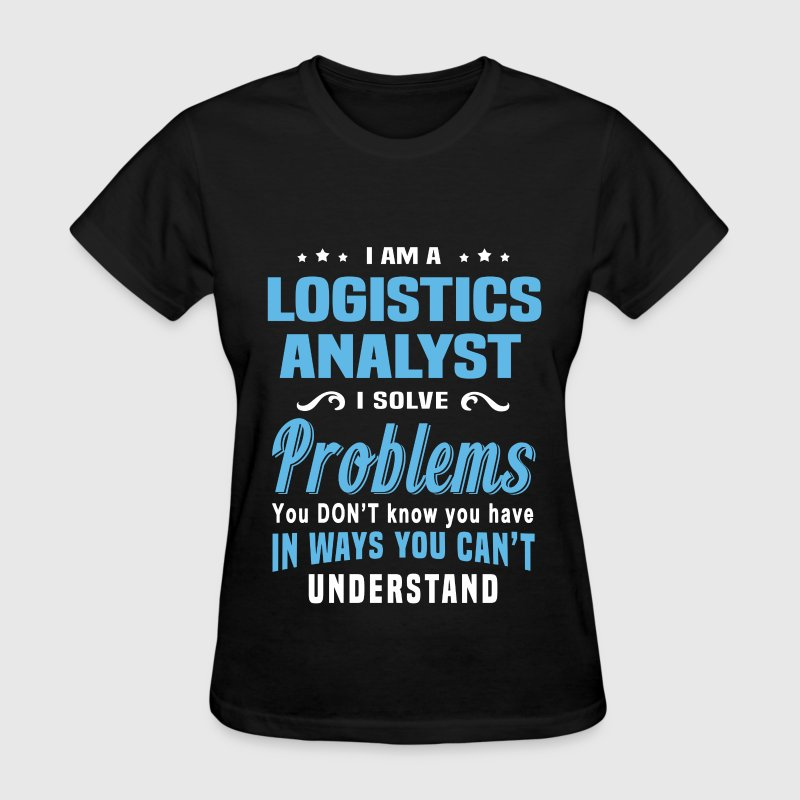 Logistics analyst by bushking spreadshirt for Mechanical logos for t shirts