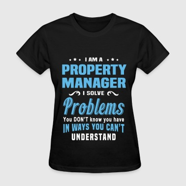 Property Management Property Manager - Women's T-Shirt