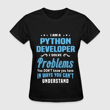 Coding Python Developer - Women's T-Shirt