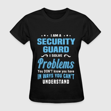 Security Guard Security Guard - Women's T-Shirt