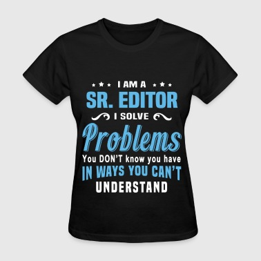 Sr. Editor - Women's T-Shirt