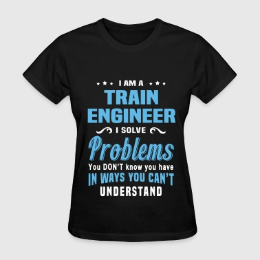 Train Engineer Train Engineer - Women's T-Shirt