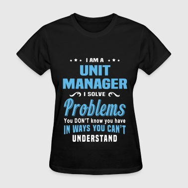Unit Manager - Women's T-Shirt