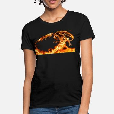 Fire Dragon dragon Fire - Women's T-Shirt