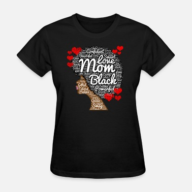 American Mother's Day Black Woman - Women's T-Shirt