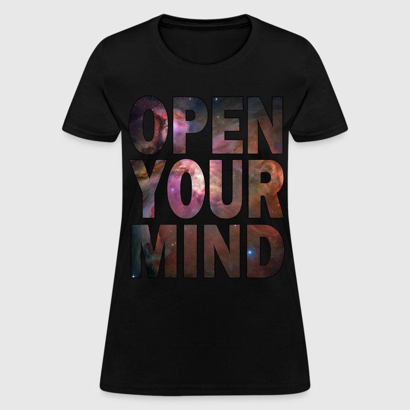 Open Your Mind Hd Design By Glowingdarkdesigns Spreadshirt