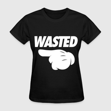 Wasted Pointing Left - Women's T-Shirt