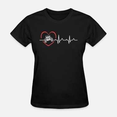 Heartbeat With Jeep Jeep Heartbeat Shirts - Women's T-Shirt