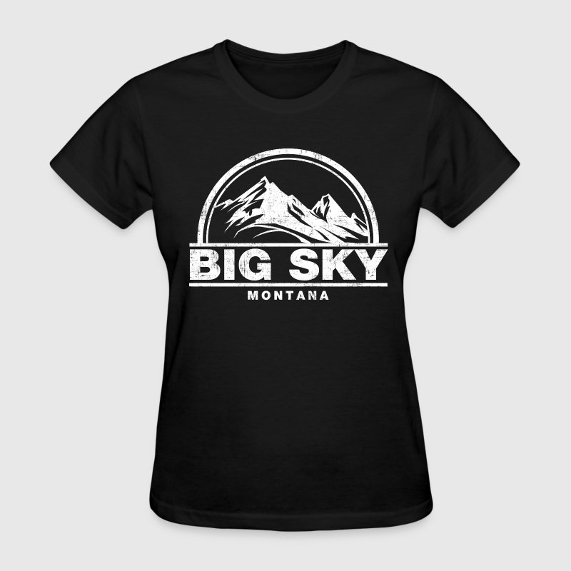 big sky montana - Women's T-Shirt