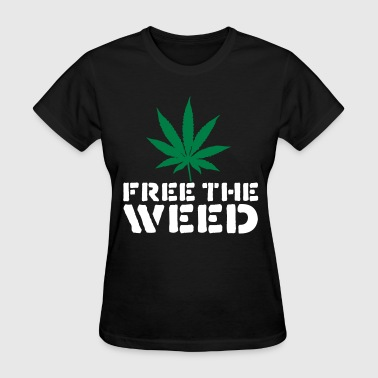 Free The Weed - Women's T-Shirt
