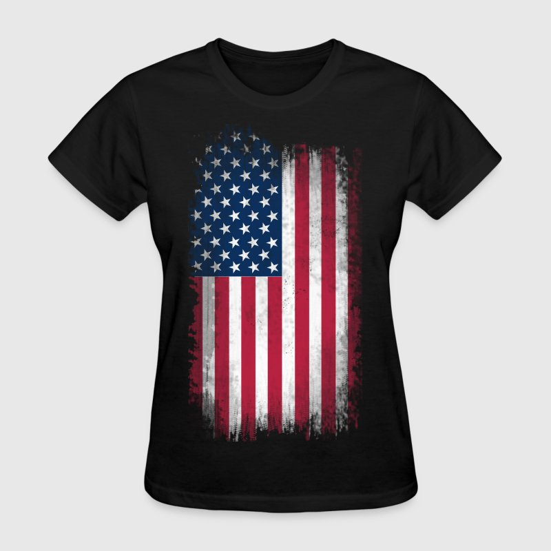 US Flag - Women's T-Shirt