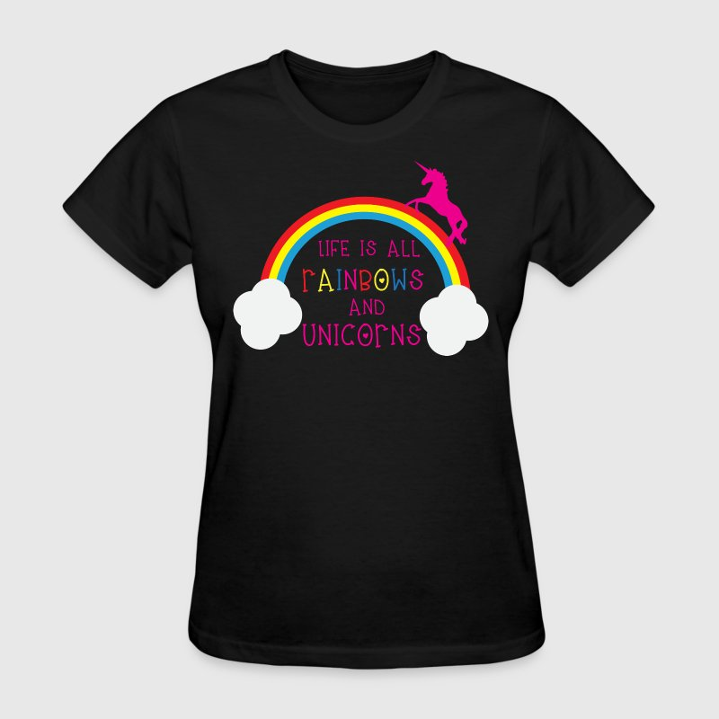 Rainbows & Unicorns - Women's T-Shirt