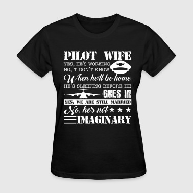 Pilot Wife Shirts - Women's T-Shirt