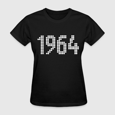 1964, Numbers, Year, Year Of Birth - Women's T-Shirt