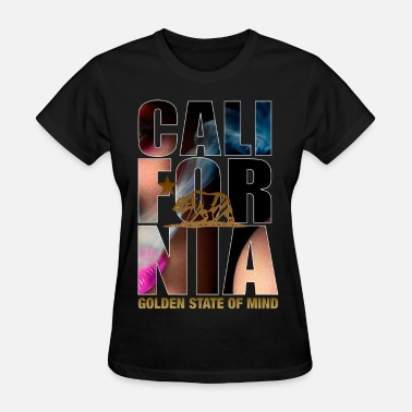 California california_smoke_pink - Women's T-Shirt