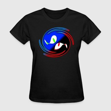 Black and Blue - Women's T-Shirt