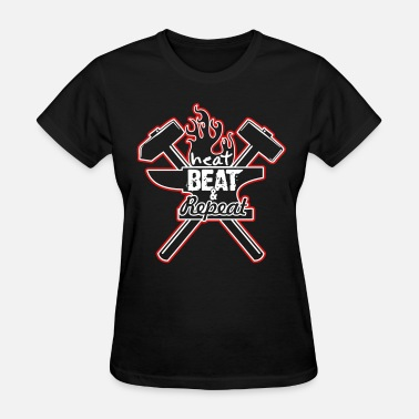 Heat, Beat, Repeat (2 Color) - Women's T-Shirt