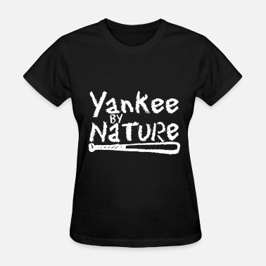 New York Yankee YANKEE by Nature New York Baseball Bat Funny Men s - Women's T-Shirt