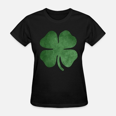 4 Leaf Clover Kids Shamrock - Women's T-Shirt