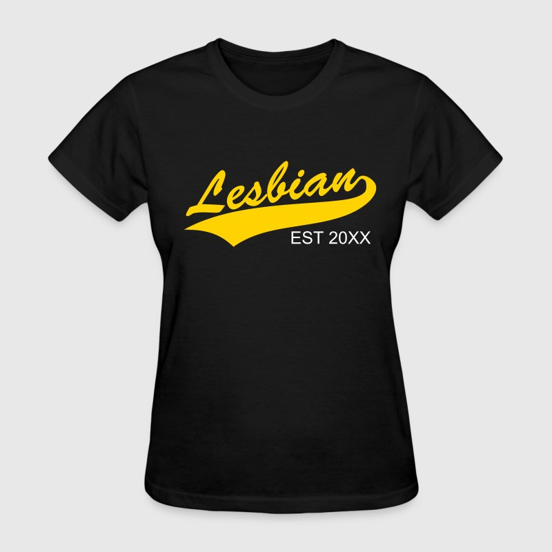 lesbian with tail  - Women's T-Shirt