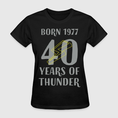 40 YEARS OF THUNDER - Women's T-Shirt