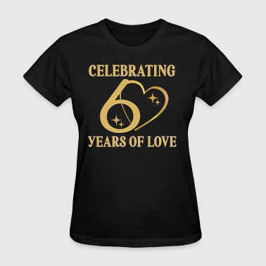 60th Anniversary Couples 60 Years of Love - Women's T-Shirt