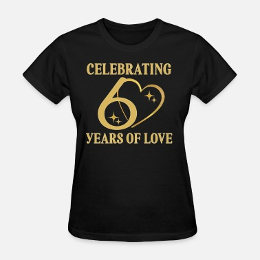 60th Anniversary 60th Anniversary Couples 60 Years of Love - Women's T-Shirt