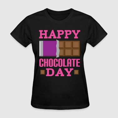 Happy Chocolate Day Candy - Women's T-Shirt