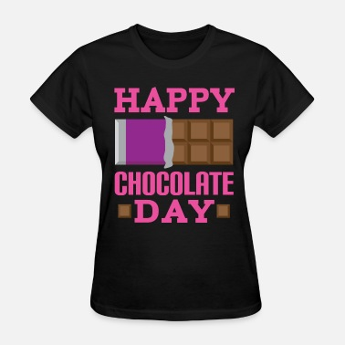Candy Happy Chocolate Day Candy - Women's T-Shirt
