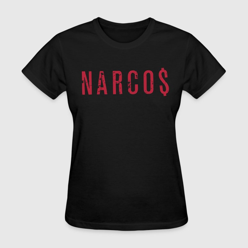 Narcos Logo Dollars - Women's T-Shirt