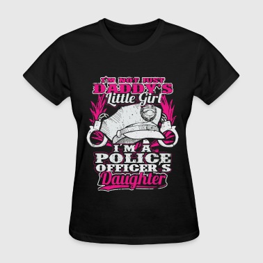 Police - I'm a police officer's daughter t-shirt - Women's T-Shirt