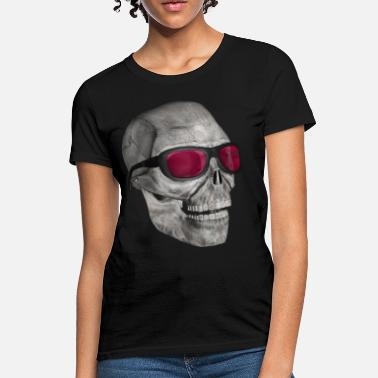 Comedy skull with sunglasses 3000 (DD) - Women's T-Shirt