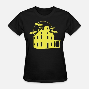 Haunted House Haunted House - Women's T-Shirt