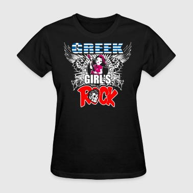 Greek Girls Rock - Women's T-Shirt