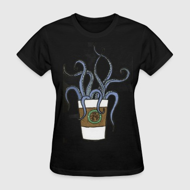 cup with tentacles - Women's T-Shirt