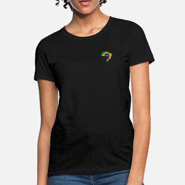 Brazil Flag of Brazil - Women's T-Shirt