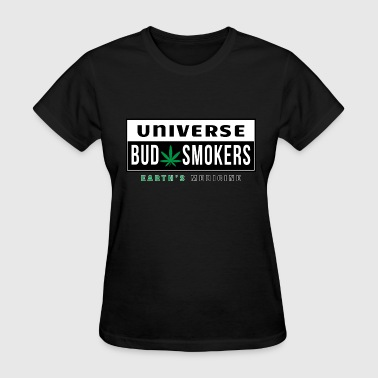 Cannabis Collection Universe Bud Smokers - Women's T-Shirt