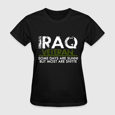 Veteran - iraq veteran funny vet military - Women's T-Shirt