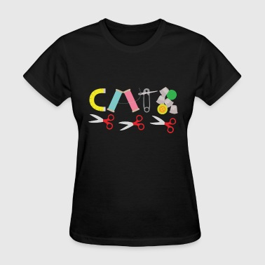 Sewing Notions for Cat Lovers - Women's T-Shirt
