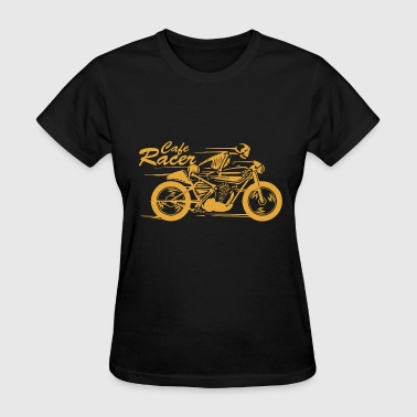 Cafe Racers Cafe - cafe racer | skeleton riding a cafe racer - Women's T-Shirt