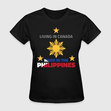 Filipino Designs Made in the Philippines (Canada) - Women's T-Shirt