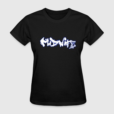 MiDNiTE Graffiti - Women's T-Shirt
