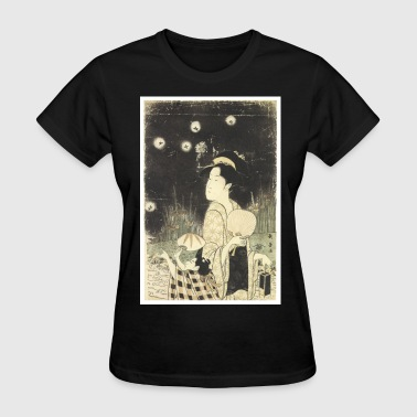 Fireflies in the Night - Women's T-Shirt